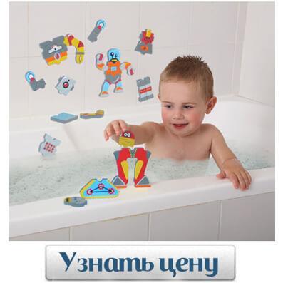 Edushape Набор для игры в ванне «Роботы»