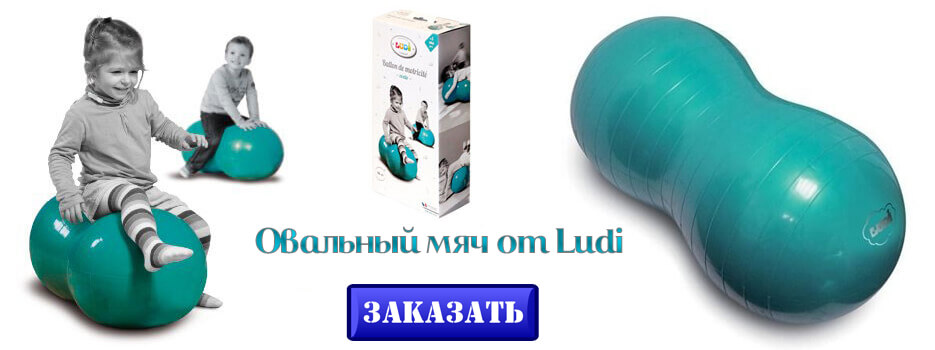 овальный мяч Ludi